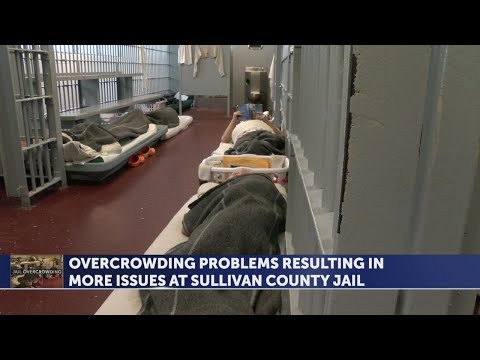 'Dangerous' Sullivan County jail critically overcrowded, facing decertification