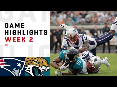 Patriots vs. Jaguars Week 2 Highlights | NFL 2018 (видео)