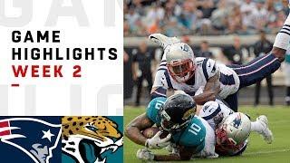 Patriots vs. Jaguars Week 2 Highlights   NFL 2018