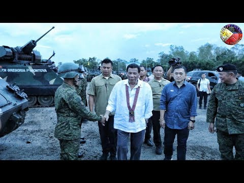 PRESIDENT DUTERTE GRACES 12th ACTIVATION ANNIVERSARY OF THE INFANTRY DIVISION PHILIPPINES ARMY !