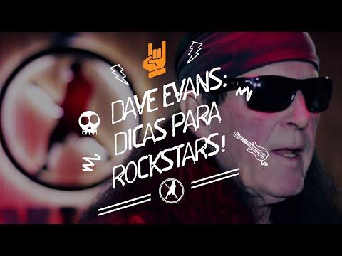 Entrevista Dave Evans na Academia do Rock