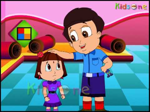 Hindi Nursery Rhymes - Ghadi kare tik tik - Animated Hindi Rhymes