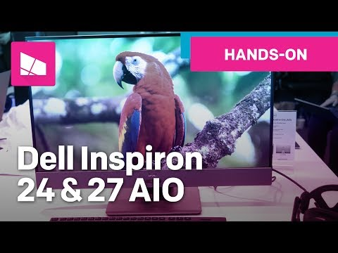 Dell Inspiron 27 7000 AIO & Inspiron 24 5000 AIO hands-on