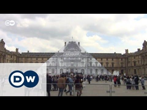 JR lässt die Louvre-Pyramide verschwinden | Euromaxx