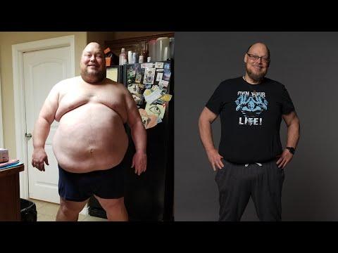 Невероятная потеря веса - 90 кило за год