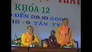 Bài Giảng: Tâm Sự Cùng Người Niệm Phật - Thượng Tọa Thích Giác Hóa