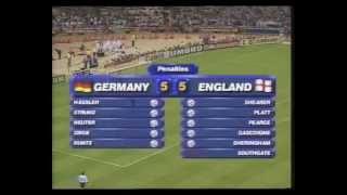 EM 1996: Das Elfmeterschießen im Halbfinale zwischen Deutschland und England