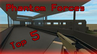 Hey guys so here is a video highlighting my OPINION of the TOP 5 Guns in Roblox Phantom Forces as of update 0.5.11 These OPINIONS are backed up by some in ga...