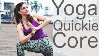 Video Yoga Quickie Core with Fightmaster Yoga MP3, 3GP, MP4, WEBM, AVI, FLV Maret 2018
