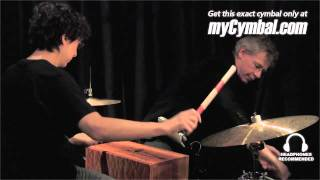 Paiste Signature Cymbal Set & Hardwood Music Tongue Drum - Played by Jonathan Schang & Bill Bruford Buy it now at ...