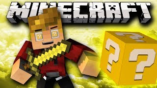 Minecraft Lucky Block Modded Airborne PVP Mini-Game! w/ Lachlan&Friends