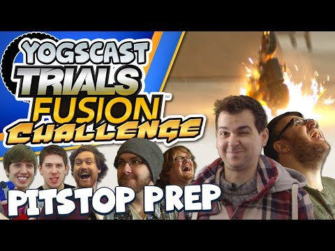 fusion - Three teams face off in this Trials Fusion inspired challenge. Each team has to customise their bike so it's ready to face some extreme jumps. It's The Yogsc...