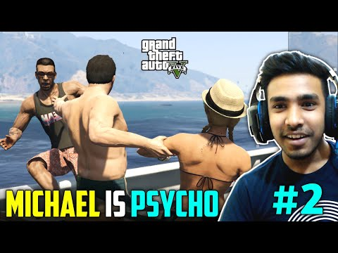 MICHAEL KILLED HIS DAUGHTER'S FRIENDS  | GTA V GAMEPLAY #2