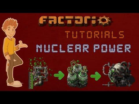 Factorio 0.15 Nuclear Power Tutorial - Features & Ratios