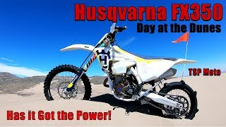 9. Day at the Dunes Husqvarna FX350