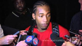 Kawhi Leonard Draft Combine Interview