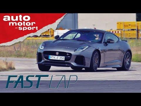 Jaguar F-Type SVR: Killt er den 911er? - Fast Lap | a ...