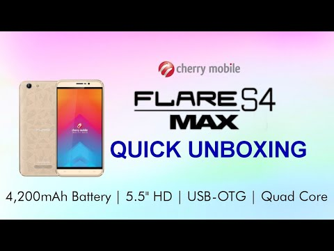 Cherry Mobile Flare S4 Max Quick Unboxing