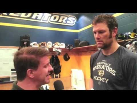 Preds Hall Gill towers over Jim VIDEO