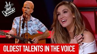 Video The Voice | OLDEST TALENTS who prove age is just a number MP3, 3GP, MP4, WEBM, AVI, FLV Desember 2018