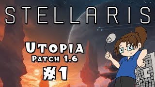 Let's Play: Stellaris - Quillian Bureaucracy [Utopia / 1.6] - Ep. 1 Video