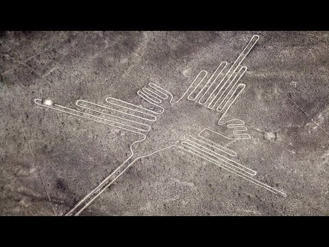 The Nazca Lines are a series of...