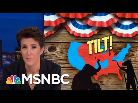 GOP Gerrymandering: Democratic Votes Not Matched By Seats Gained   Rachel Maddow   MSNBC