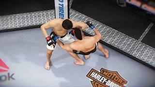 EA SPORTS™ UFC® 2 7월에 메인이벤트로 추진중인 정찬성과 라마스의 경기 미리보기