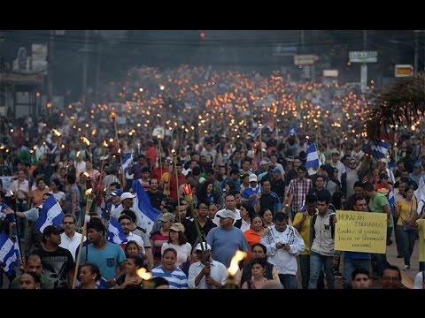 UTV: Marcha de las Antorchas, un despertar del pueblo hondureño contra la corrupción