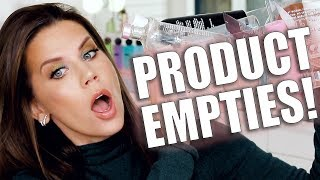 PRODUCT EMPTIES   What I'd Buy Again ... by Glam Life Guru