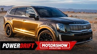 2020 Kia Telluride : Big and bold : 2019 Detroit Auto Show : PowerDrift