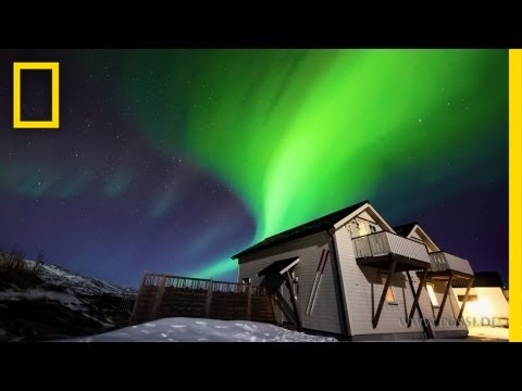 northern lights - March 21, 2012 — Multicolored curtains of light fill the skies over northern Norway in a new time-lapse video made from aurora images taken this month. Filmm...