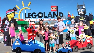 Video 🎢LEGOLAND TOUR, BEST KIDS RIDES, AND MEETING LEGO BATMAN! MP3, 3GP, MP4, WEBM, AVI, FLV Juli 2018