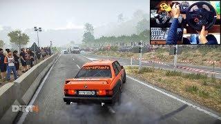 BMW M3 E30 Dirt 4 (Logitech g29 + shifter) gameplay