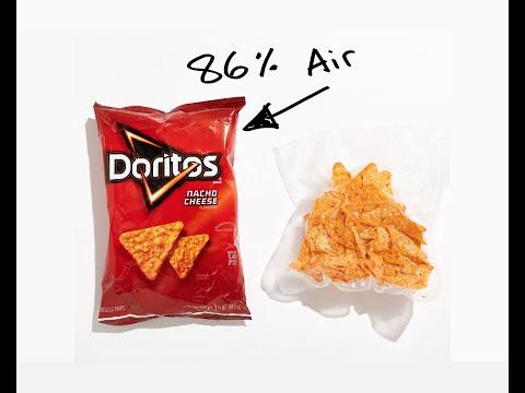 點解薯片袋咁多空氣?