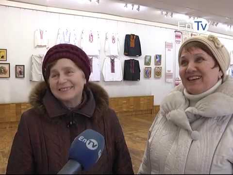 В Энергодаре открылась выставка работ декоративно-прикладного искусства «Наш край»