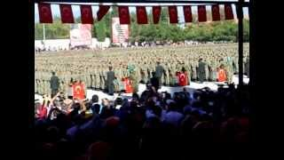 58.piyade alay komutanlığı 923 tertip yemin töreni  burdur