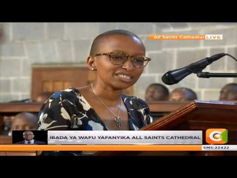 Wambui Collymore's heartfelt eulogy for her late husband Bob