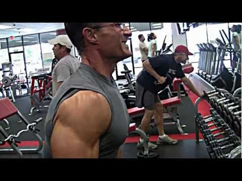 front delt - This is Kirk's personally customized shoulder training regimen designed to hit the shoulders with direct stimulation with no wasted movement or unneeded mome...