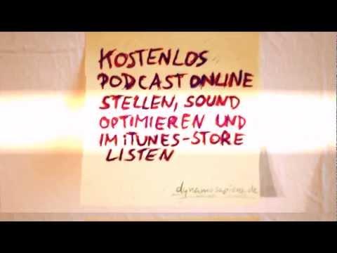 Kostenlos Podcast online stellen, Sound optimieren und im ...