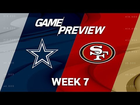Video: Dallas Cowboys vs. San Francisco 49ers | Week 7 Game Preview | NFL Playbook