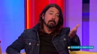 Video Dave Grohl Foo Fighters BBC The One Show 2014 MP3, 3GP, MP4, WEBM, AVI, FLV Desember 2018