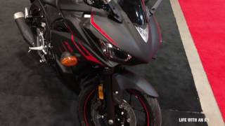 10. 2017 Yamaha R3 New colors  & ABS..
