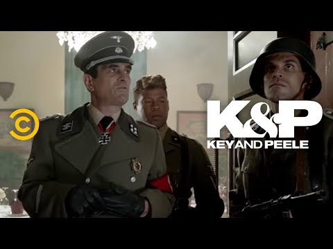 Story - A Nazi mission to secure a hotel gets sidetracked when the commander begins talking about the time he saw Hitler. Watch more Key & Peele: http://on.cc.com/Zw...