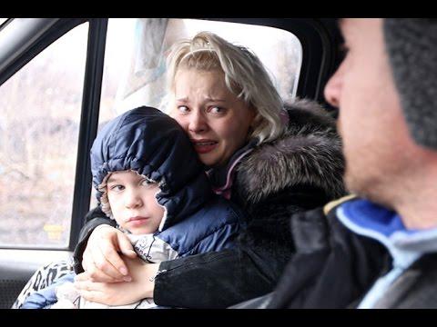 Репортаж КП: Эвакуация жителей Углегорска под обстрелом ВСУ