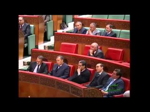 السخرية بالمونتاج من بنكيران في البرلمان