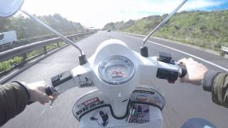 7. GoproHERO4Silver Piaggio Vespa PX150 SipRoad 2.0, Polini 175cc, Dell'Orto 26