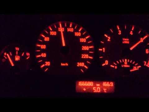 BMW 328 E46 0-170km/h