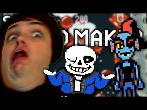 UNDERTALE FULL GAME IN MARIO MAKER?!?! IT CAN'T BE!!   Super Mario Maker   Your Course Submissions (видео)