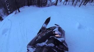 4. 2007 Polaris Dragon Rmk 700 Hill Climb Fail